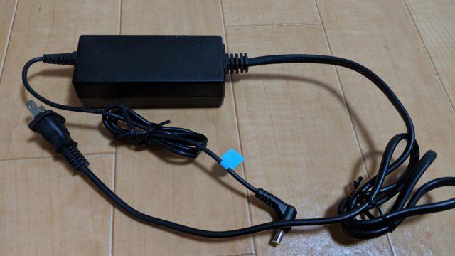 光BBユニットの電源アダプター
