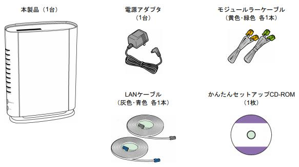 光BBユニット付属品